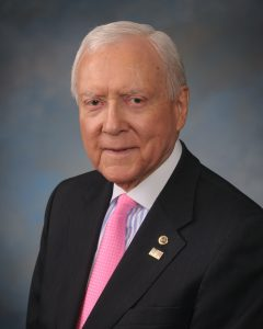 Photo of Senator Orrin Hatch, Chairman of the Senate Finance Committee
